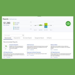 Customized Reporting in QuickBooks Online
