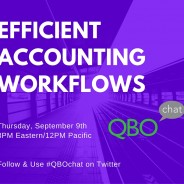 Efficient Accounting Workflows