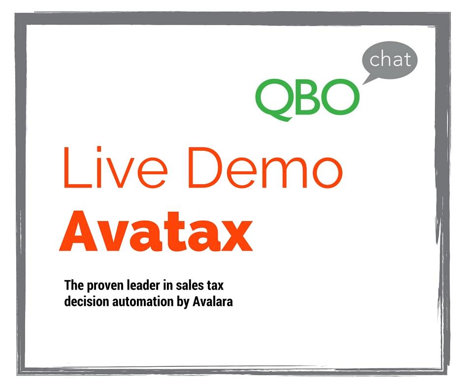 Avatax Demo