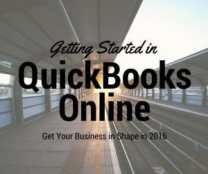 Getting Started in QuickBooks Online