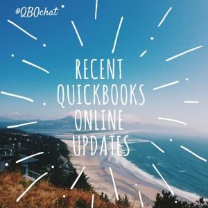 QuickBooks Online Updates