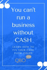 Fixing Cash Flow Issues
