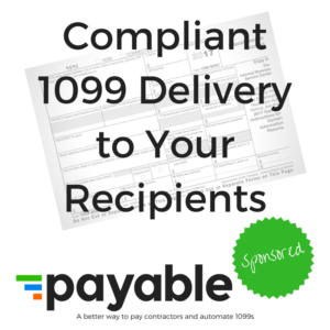 Compliant 1099 Delivery