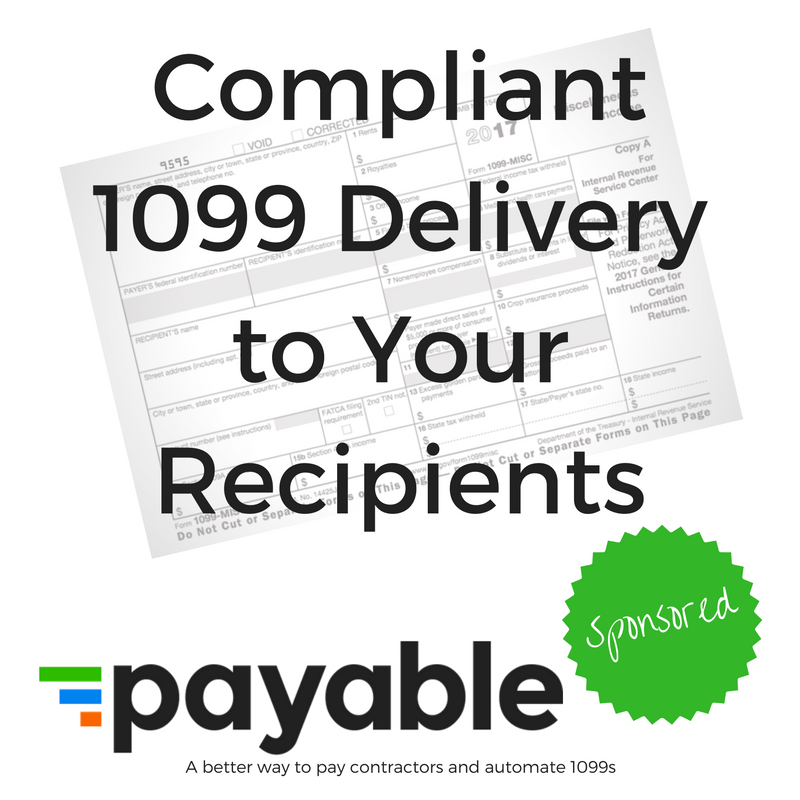 Compliant 1099 Delivery To Your Recipients Qbochat