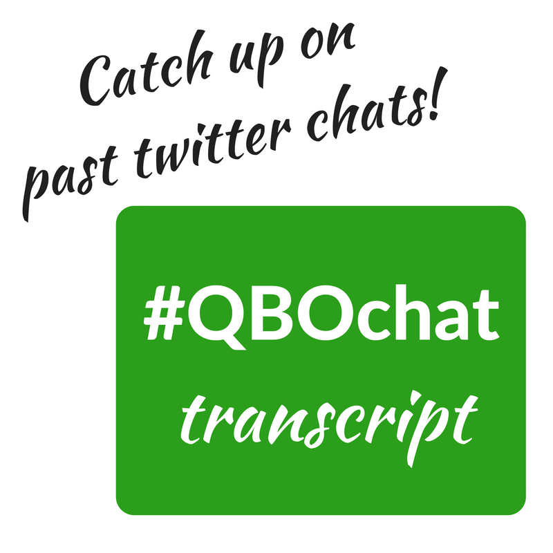 QBOchat Transcript catch up
