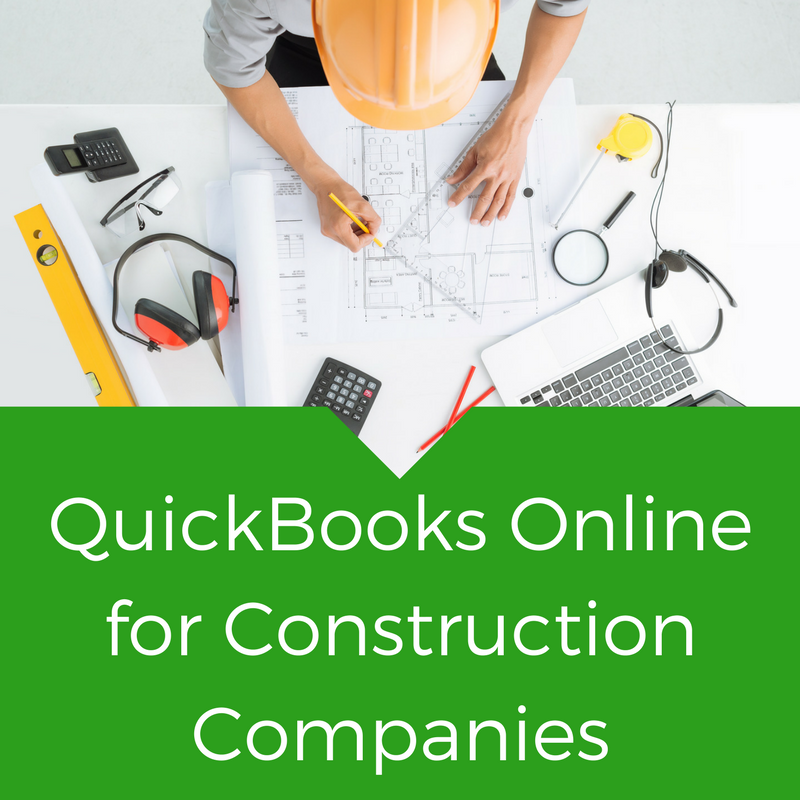 QuickBooks Online for Construction Companies
