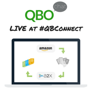 A2X Amazon Accounting QBOchat LIVE at QBConnect