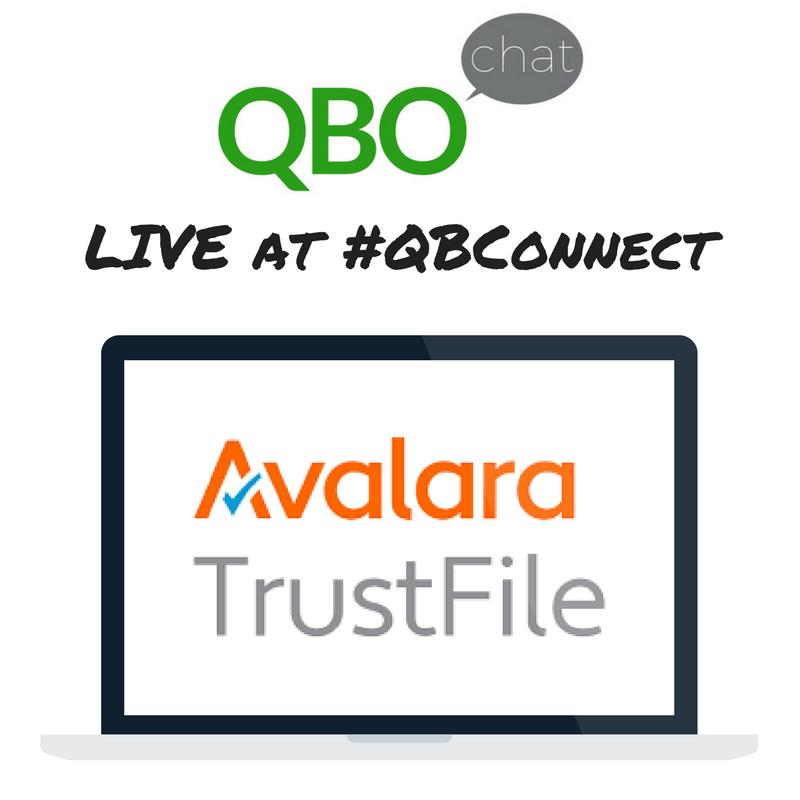 Avalara TrustFile QBOchat LIVE at QBConnect
