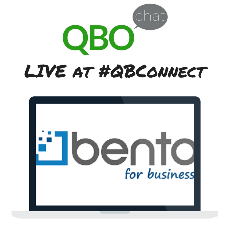 Bento for Business QBOchat LIVE at QBConnect