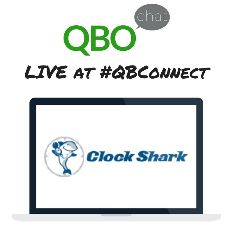ClockShark QBOchat LIVE at QBConnect