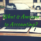 What is Amazon to Accounting?