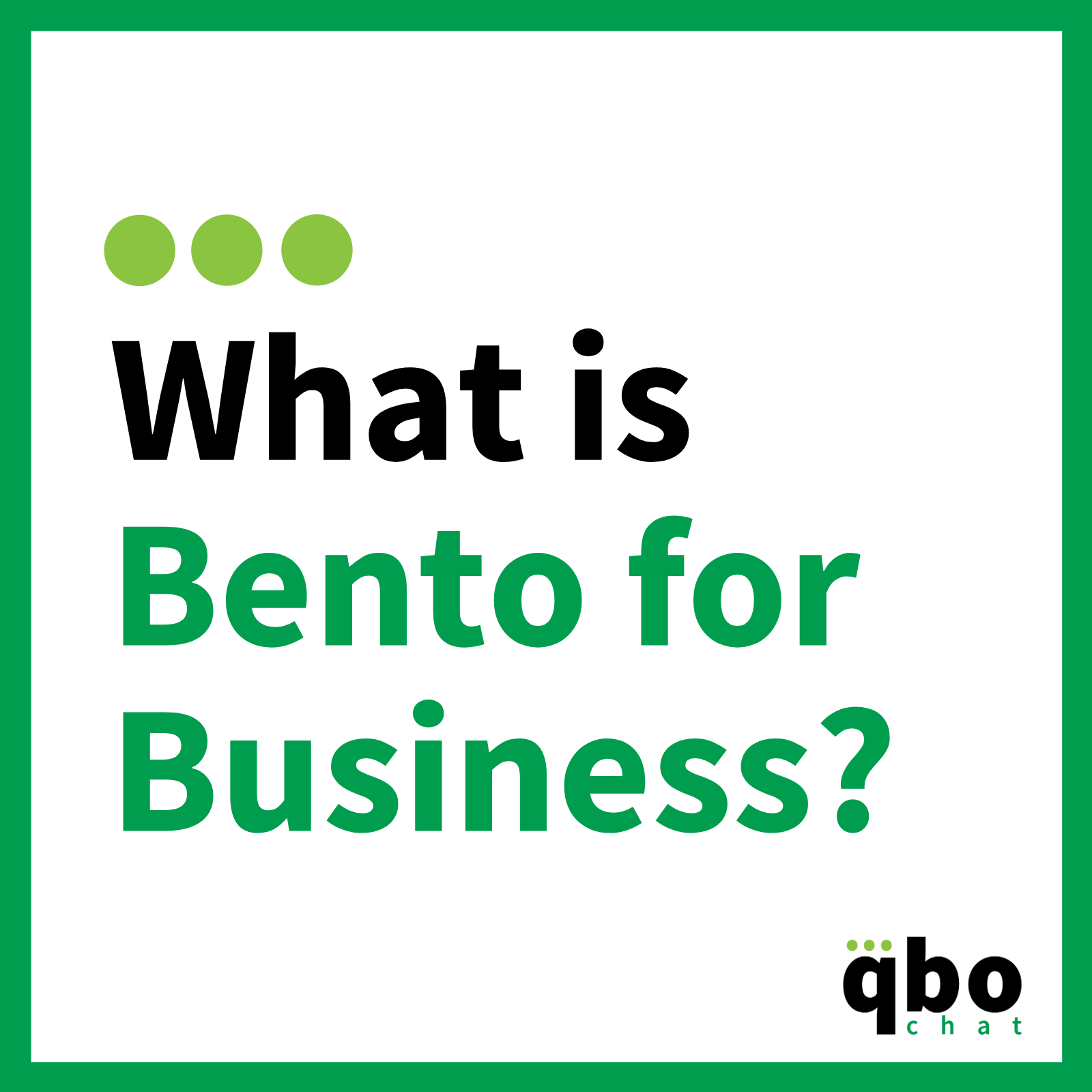 What is Bento for Business_
