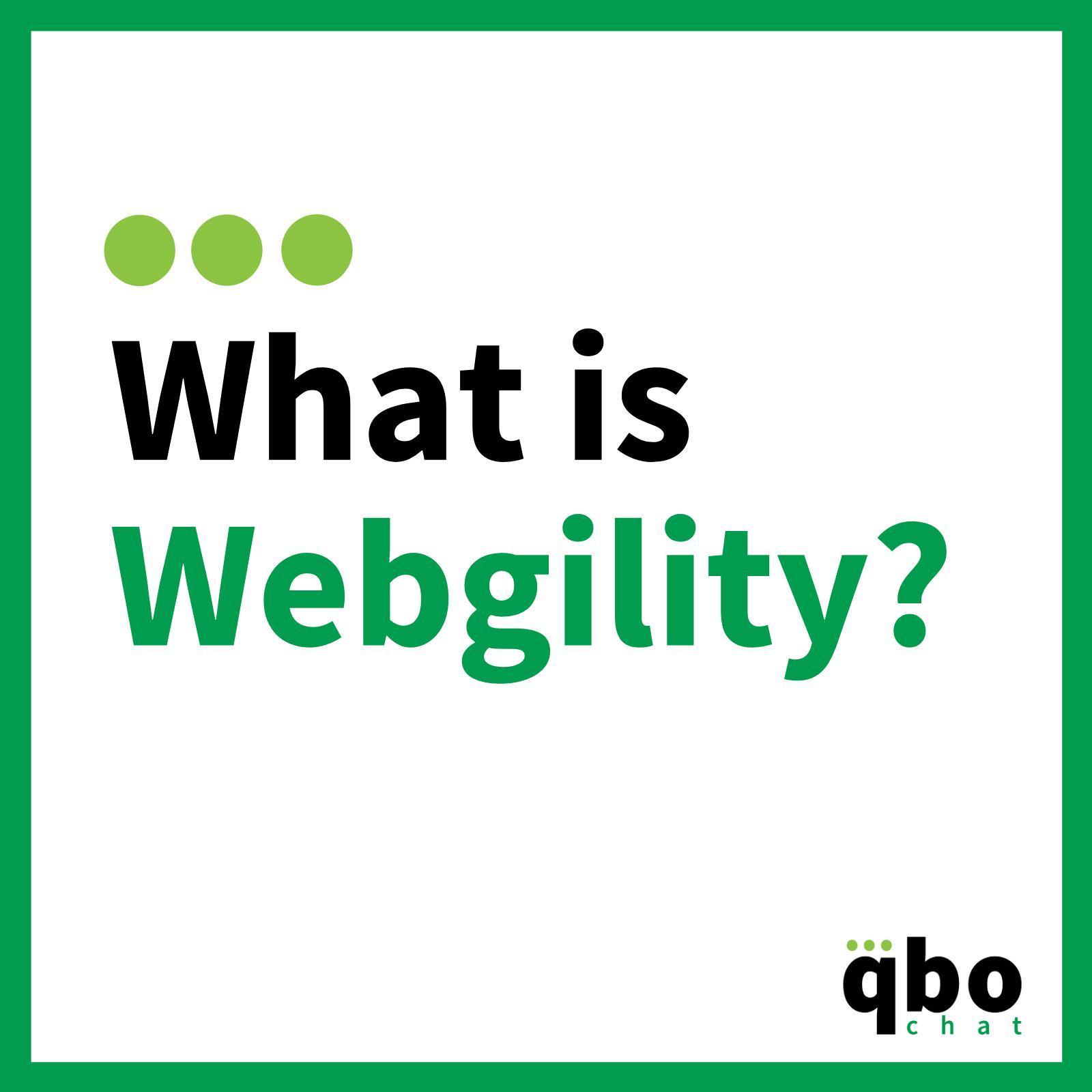 What is Webgility_