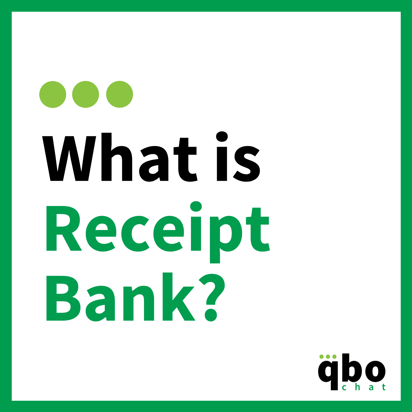What is Receipt Bank_
