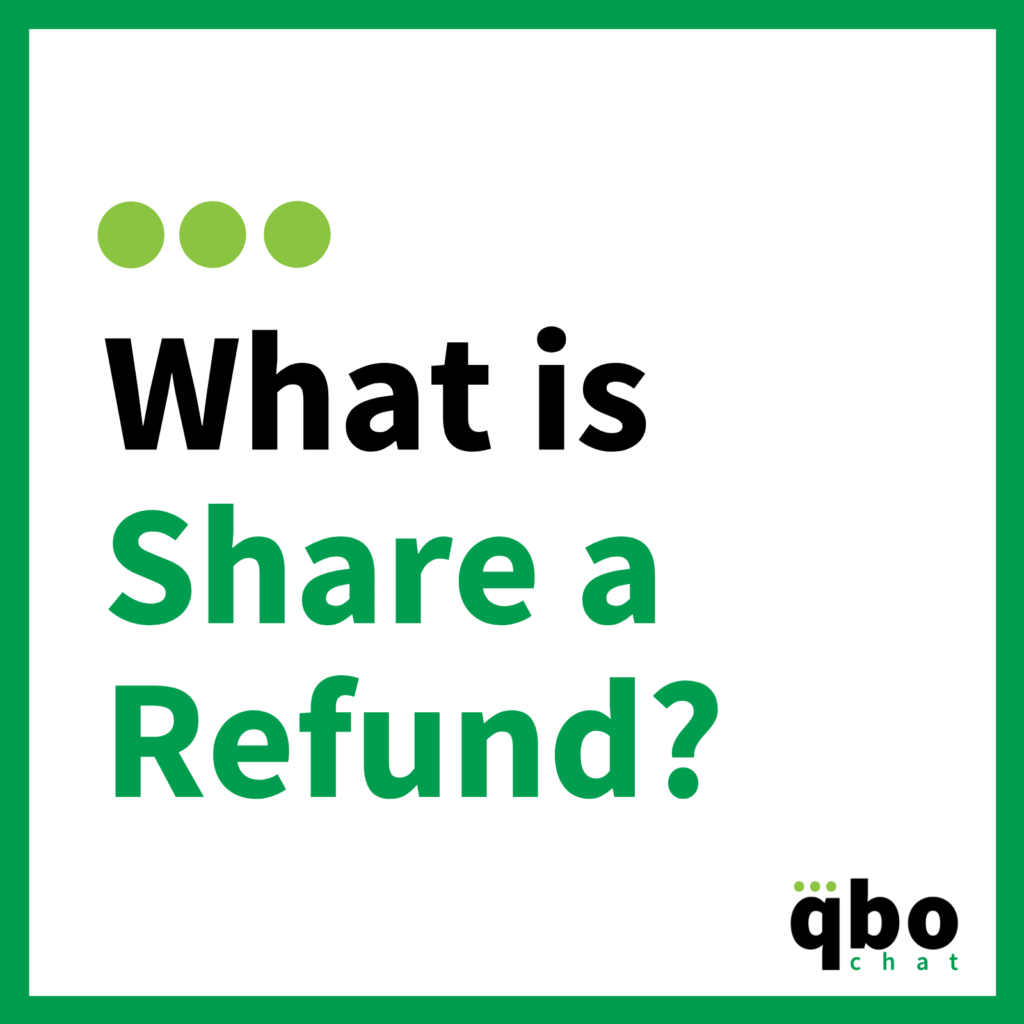 What is Share a Refund_
