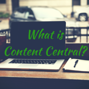 What is Content Central_