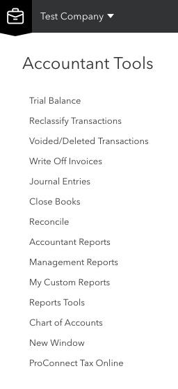 QBO Accountant Tools