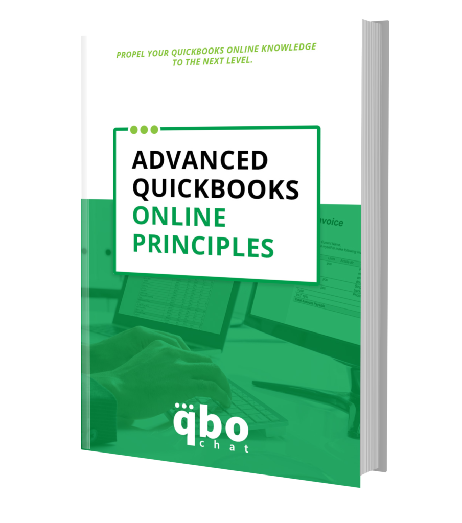 Advanced Quickbooks Online Principles