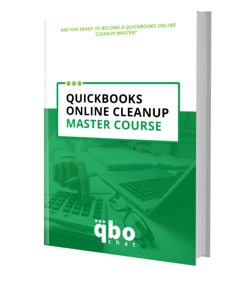 QuickBooks Online Cleanup Master Course