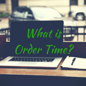 What is Order Time_