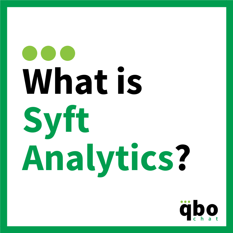 What is Syft Analytics_
