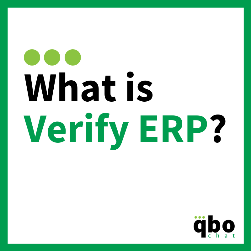 What is Verify ERP_