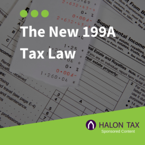 The New 199A Tax Law