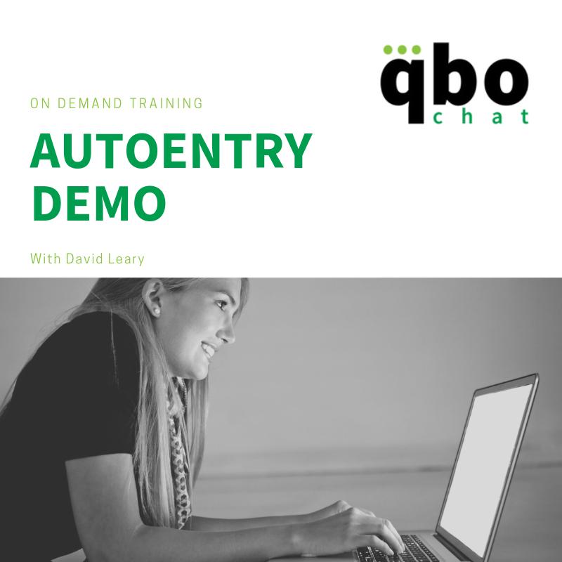 AutoEntry Demo