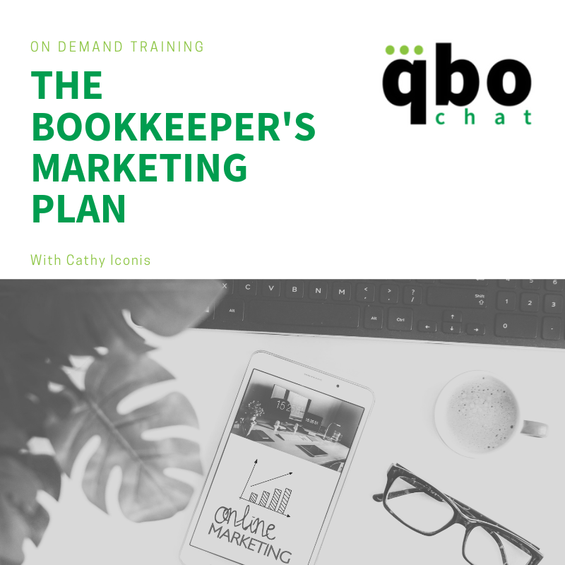 The Bookkeeper's Marketing Plan OnDemand Training