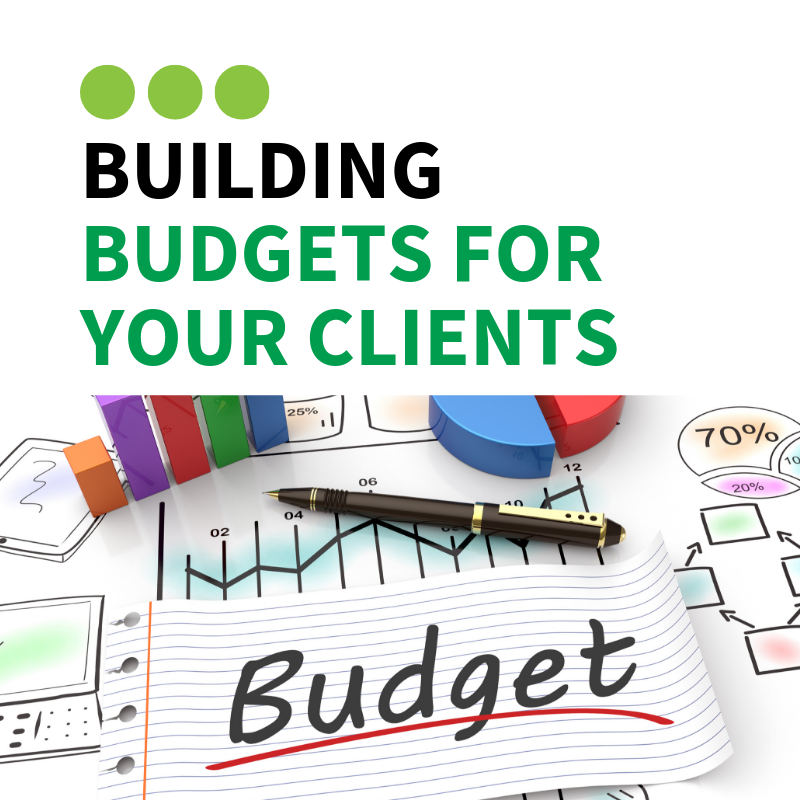Building budgets for your clients training