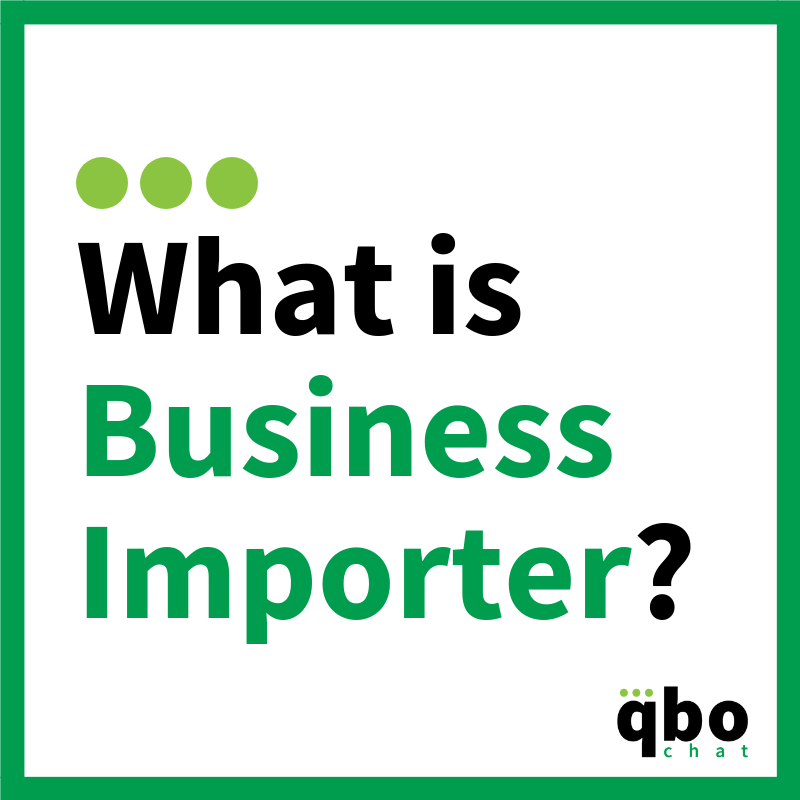What is Business Importer by CloudBusiness LLC? | QBOchat
