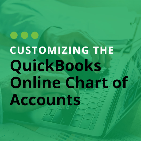 Featured image for a blog about customizing the quickbooks online chart of accounts.