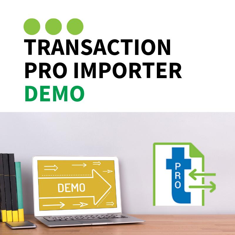 Transaction Pro Demo