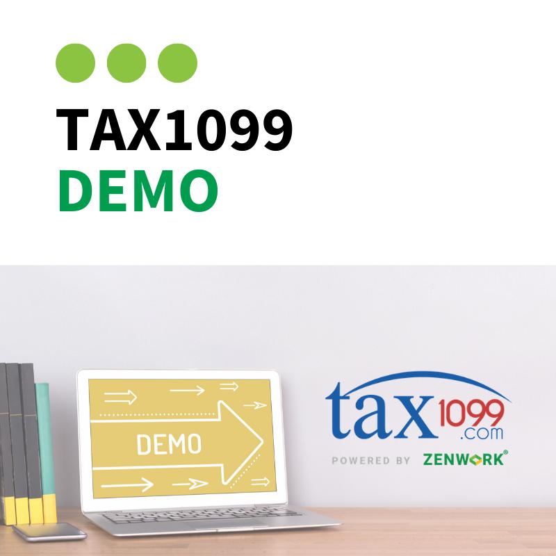 Tax1099 Demo