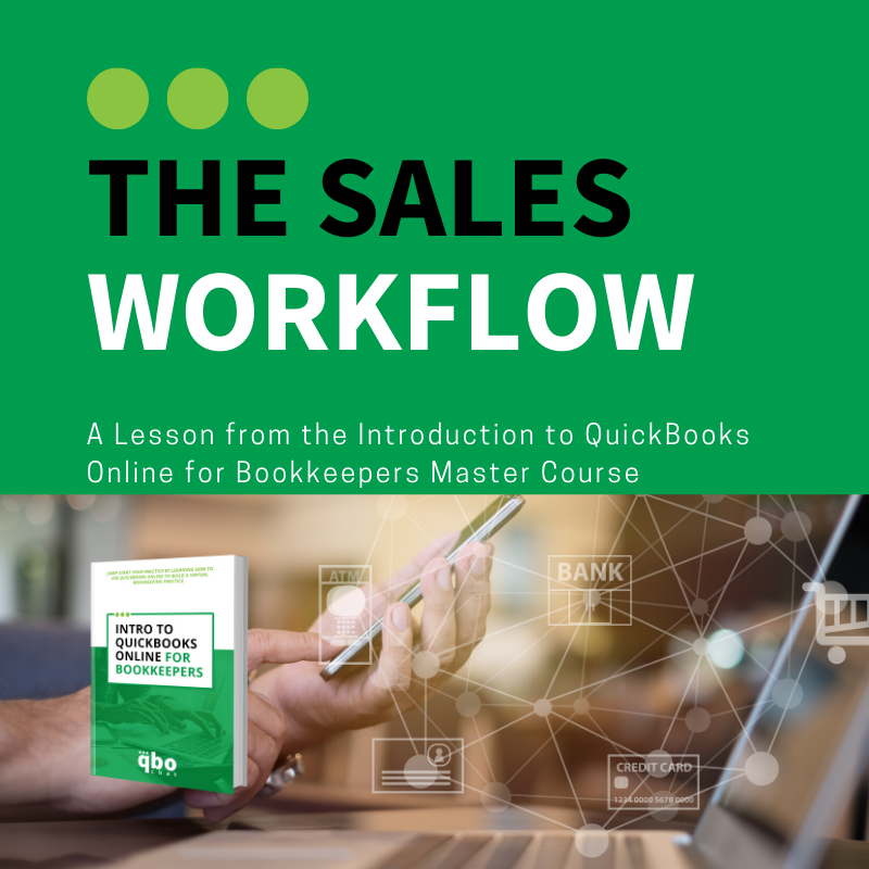 The Sales Workflow - Lesson from Intro Course