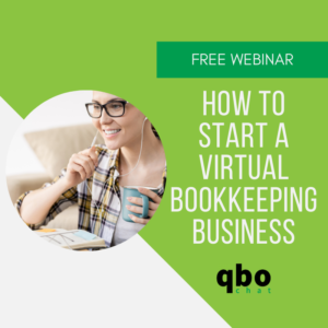 Link to free webinar, How to Start a Virtual Bookkeeping Business