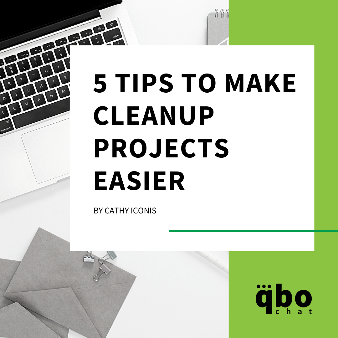 5 Tips to Make Cleanup Projects Easier