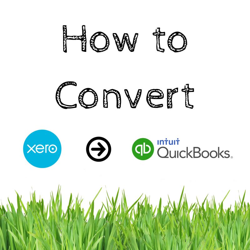 Converting from Xero to QuickBooks Online